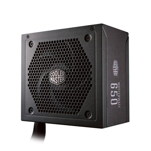 Cooler Master MASTERWATT 650 Semi-Fanless Modular 80 Plus Bronze Certified Power Supply 2