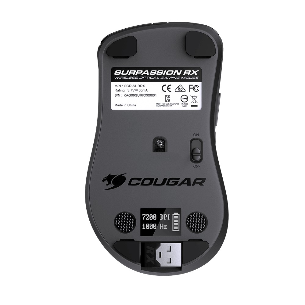 Cougar SURPASSION RX Wireless Optical Gaming Mouse 7