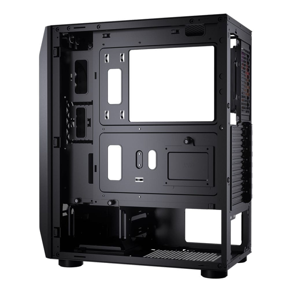 Cougar MX410-T Powerful and Compact Mid-Tower Case with Dual ARGB Strips 12