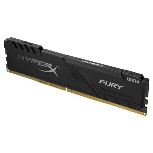 HyperX Fury 8GB 2666MHz DDR4 CL16 DIMM Black Single RAM 2