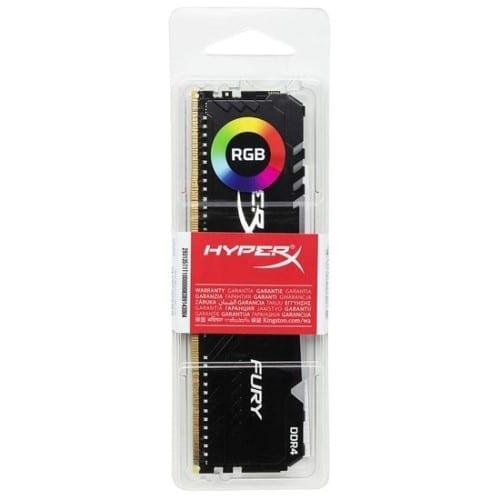 HyperX Fury 8GB 3200MHz DDR4 CL16 DIMM RGB Single RAM 4