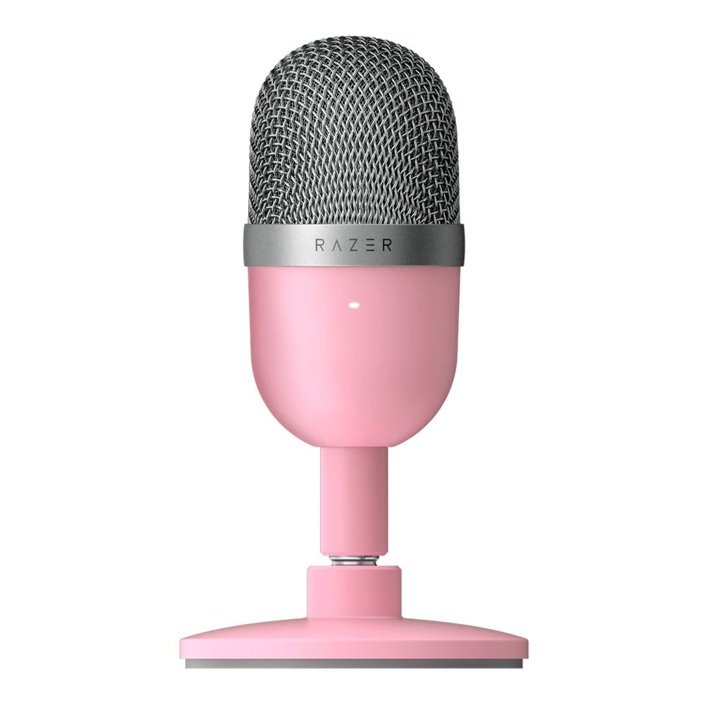 Razer Seiren Mini Ultra-compact Streaming Microphone - Quartz 1