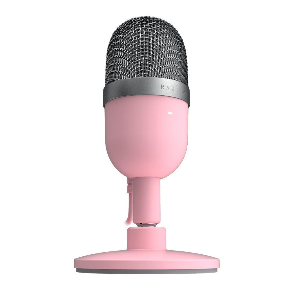 Razer Seiren Mini Ultra-compact Streaming Microphone - Quartz 3