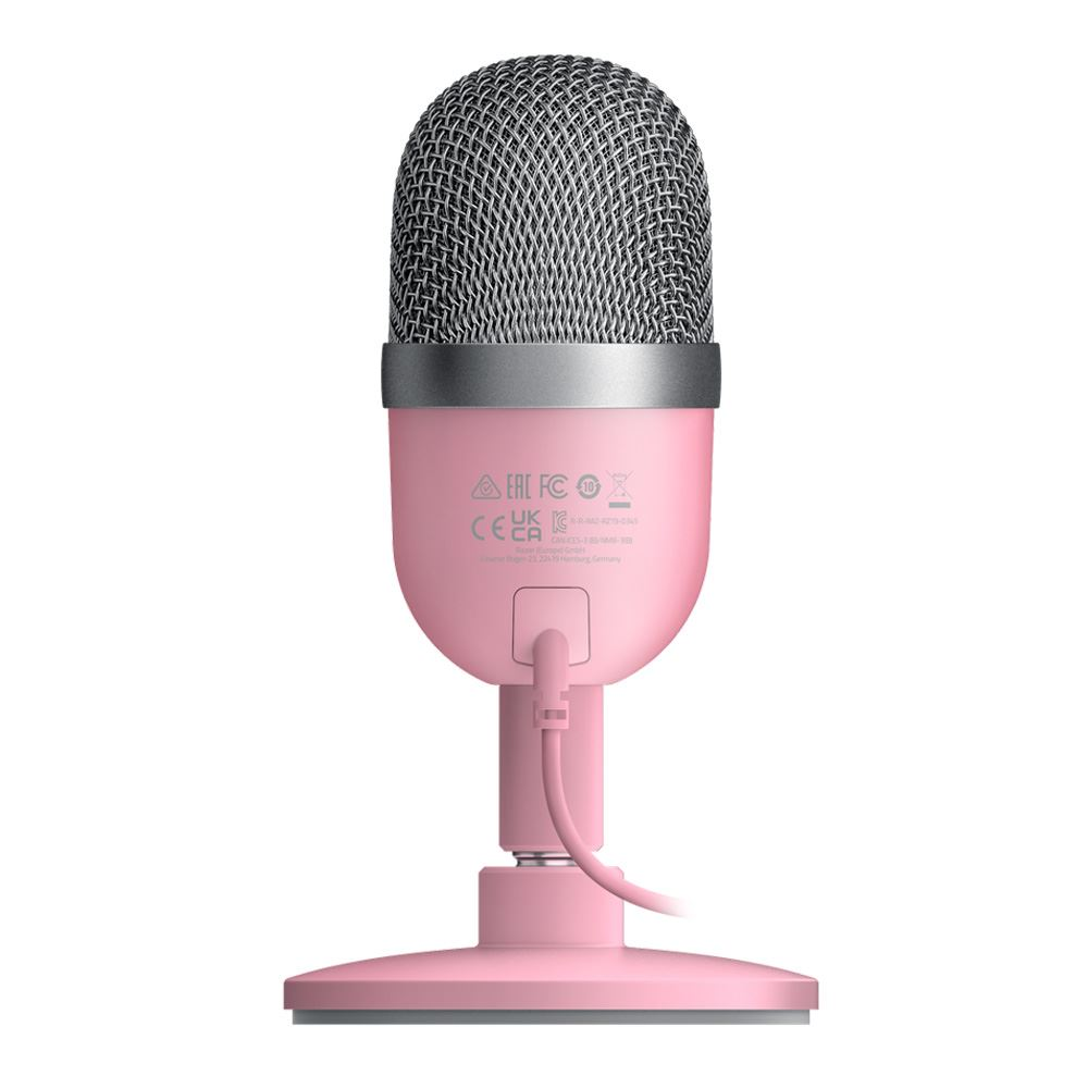 Razer Seiren Mini Ultra-compact Streaming Microphone - Quartz 2