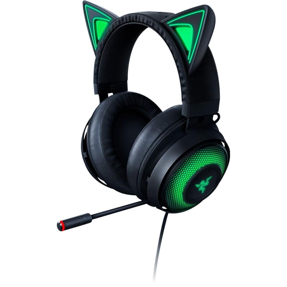 Razer Kraken Kitty Ear USB Headset with Chroma - Black 1