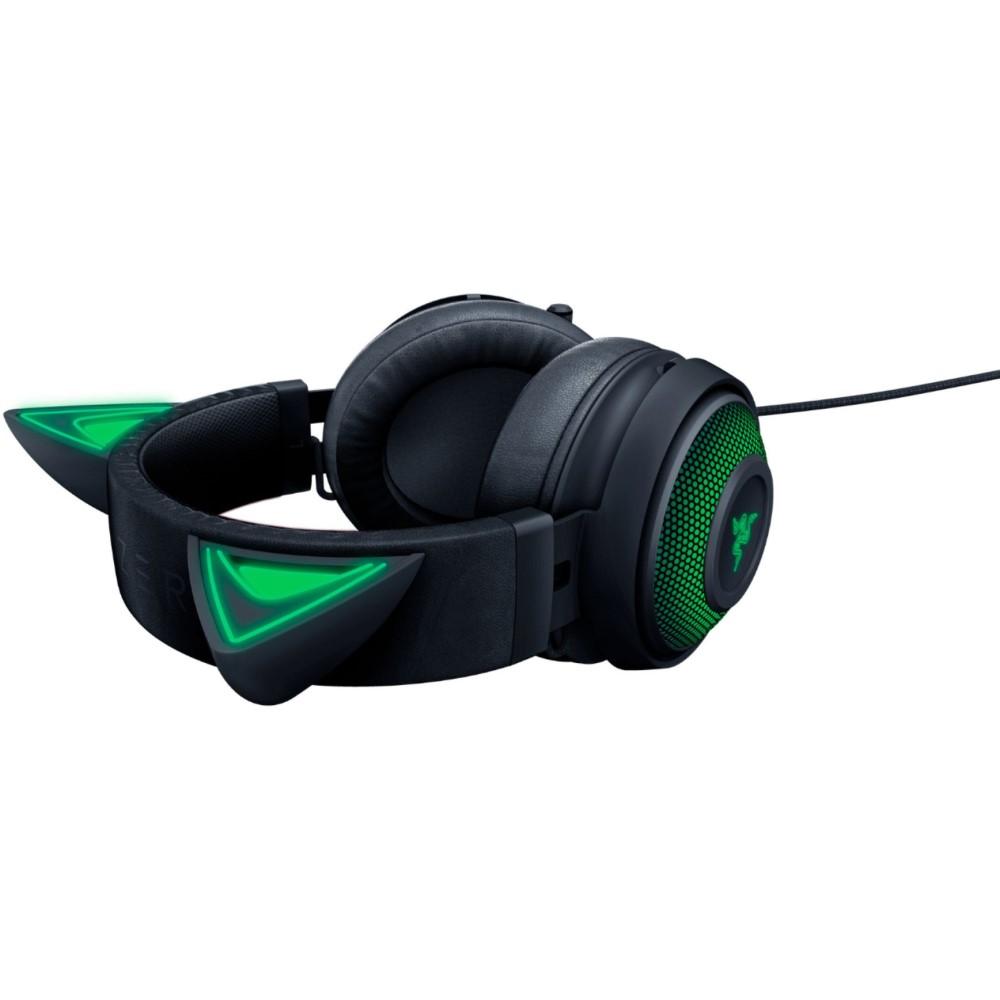 Razer Kraken Kitty Ear USB Headset with Chroma - Black 6