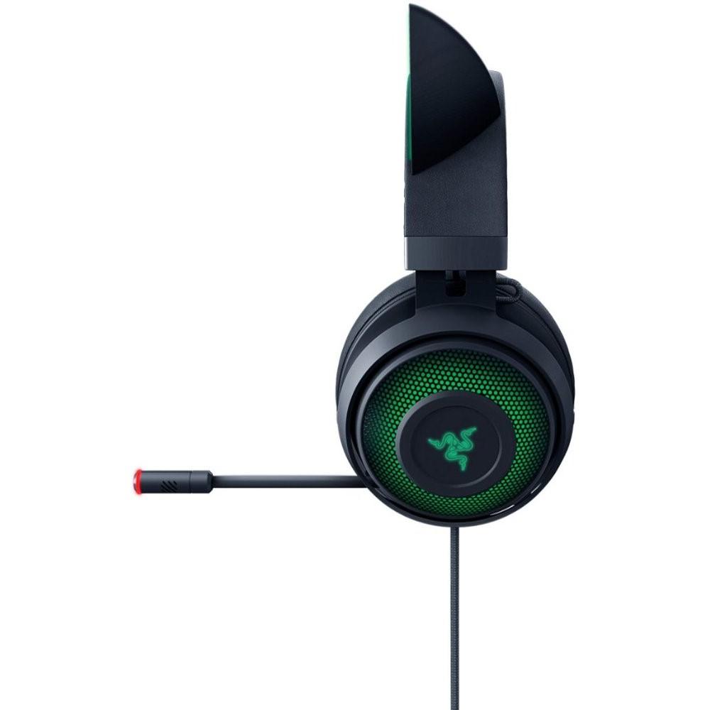 Razer Kraken Kitty Ear USB Headset with Chroma - Black 5
