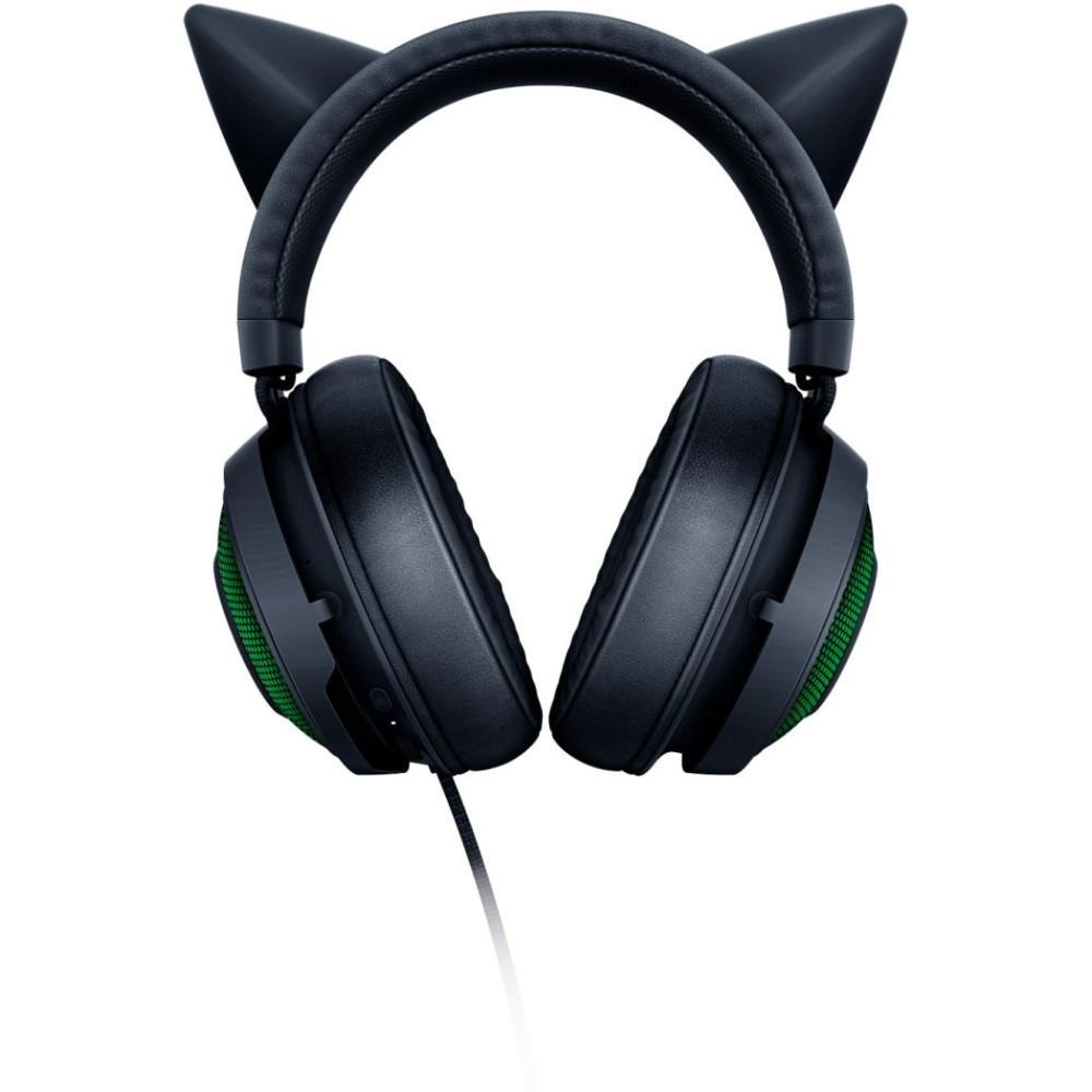 Razer Kraken Kitty Ear USB Headset with Chroma - Black 3
