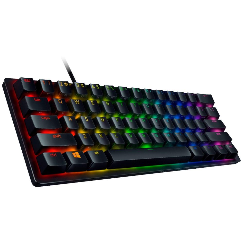 Razer Huntsman Mini - Linear Optical Switch - US - Black 60% Gaming Keyboard with Razer Optical Switch 4