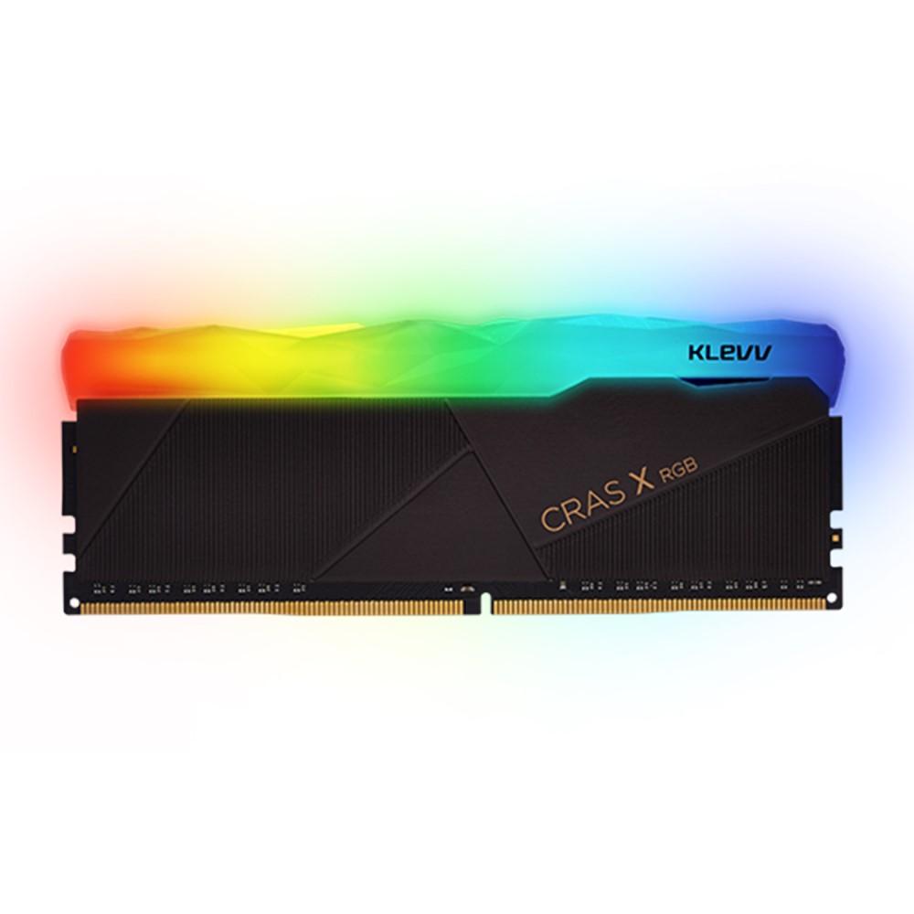 Klevv CRAS X RGB 16GB (1x16GB) DDR4 Gaming RAM 3200MHz 1