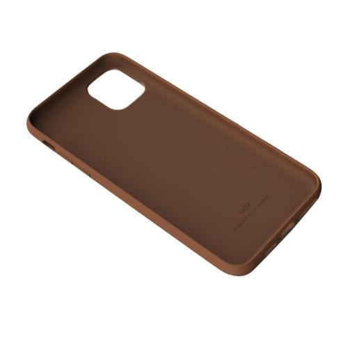 Kajsa Genuine Leather (Pearl Pattern) Back Case for iPhone 11 Series 3