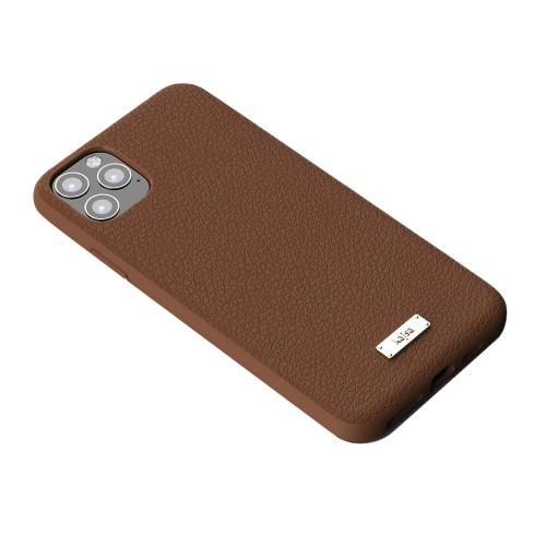 Kajsa Luxe Collection (Genuine Leather) Back Case for iPhone 11 Series 5