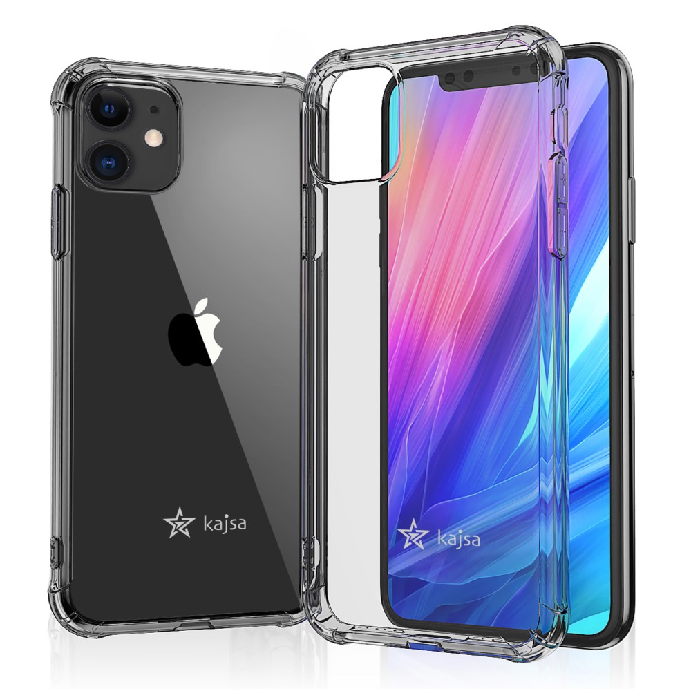 Kajsa Trans-Shield Collection (Plain Pattern) Back Cover for iPhone 11 Series 10