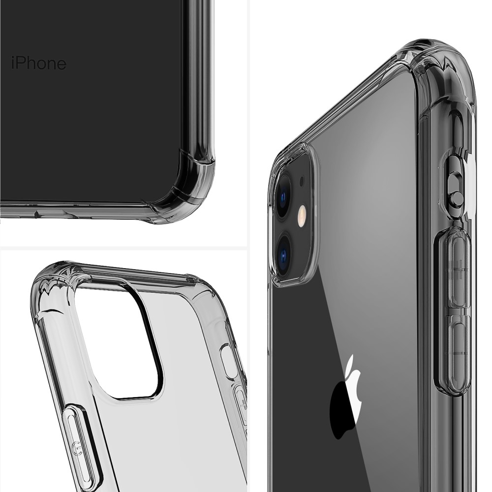 Kajsa Trans-Shield Collection (Plain Pattern) Back Cover for iPhone 11 Series 7