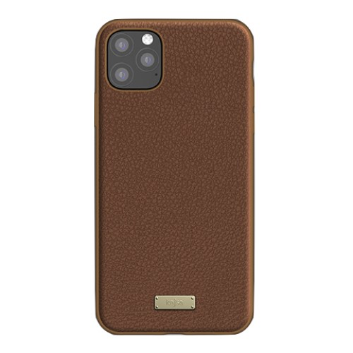 Kajsa Luxe Collection (Genuine Leather) Back Case for iPhone 11 Series 9