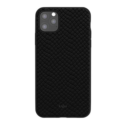 Kajsa Genuine Leather (Pearl Pattern) Back Case for iPhone 11 Series 6