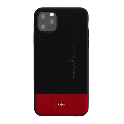 Kajsa Preppie Collection (Genuine Leather) Back Case for iPhone 11 Series 4