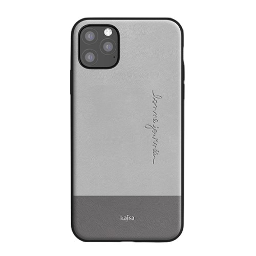 Kajsa Preppie Collection (Genuine Leather) Back Case for iPhone 11 Series 3