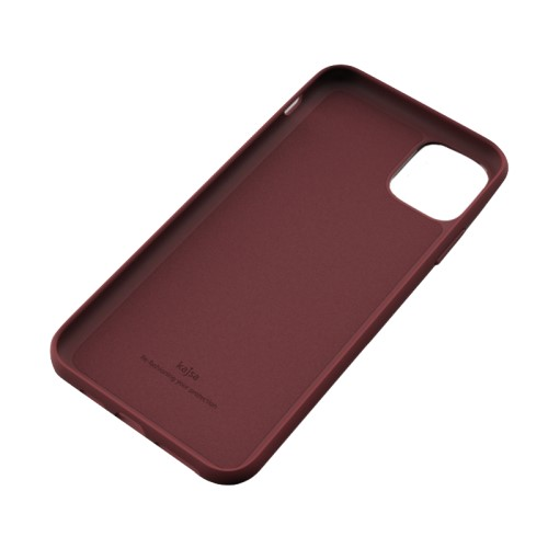 Kajsa Luxe Collection (Genuine Leather) Back Case for iPhone 11 Series 13