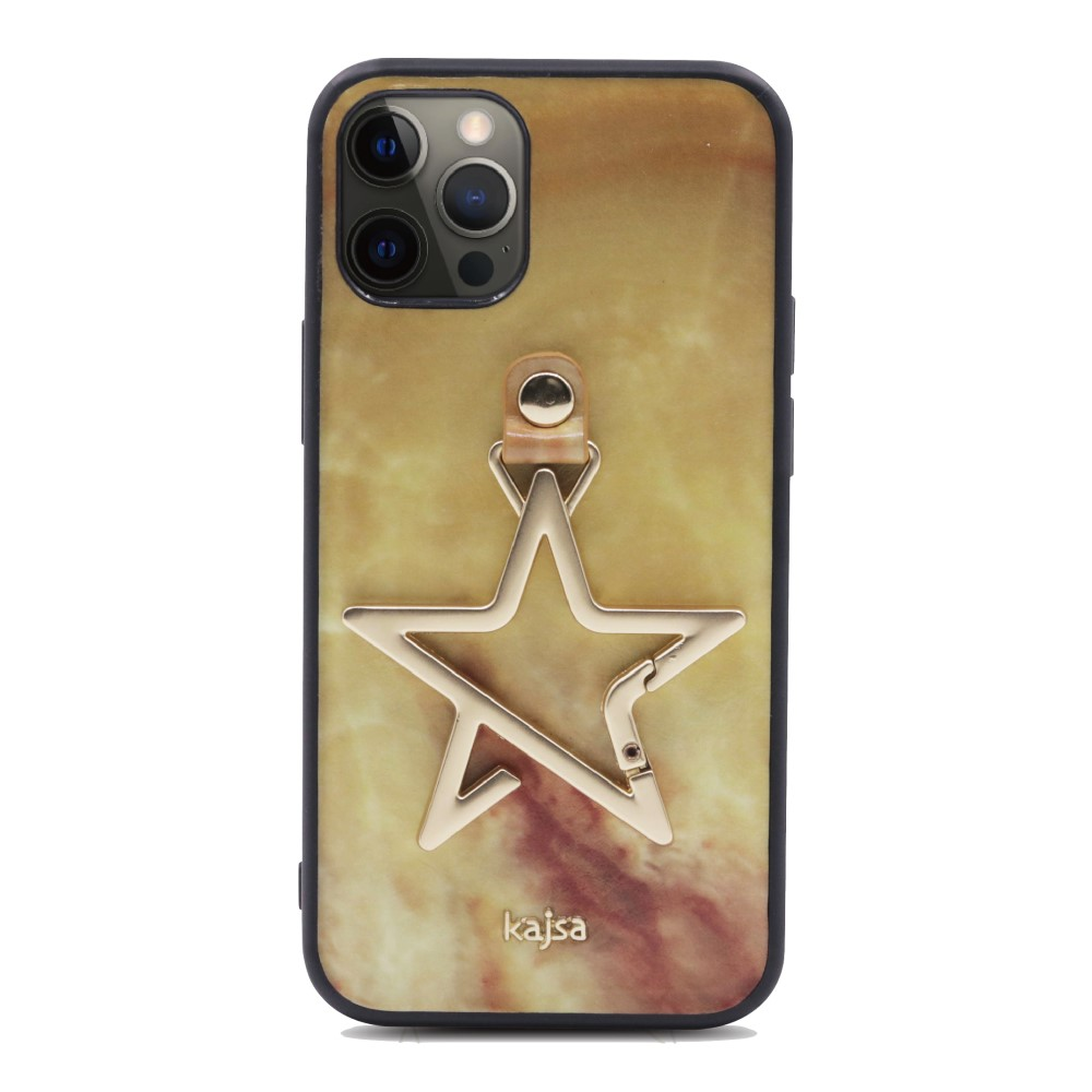 Kajsa Starry Collection - Marble Pattern Back Case for iPhone 12 Series 8