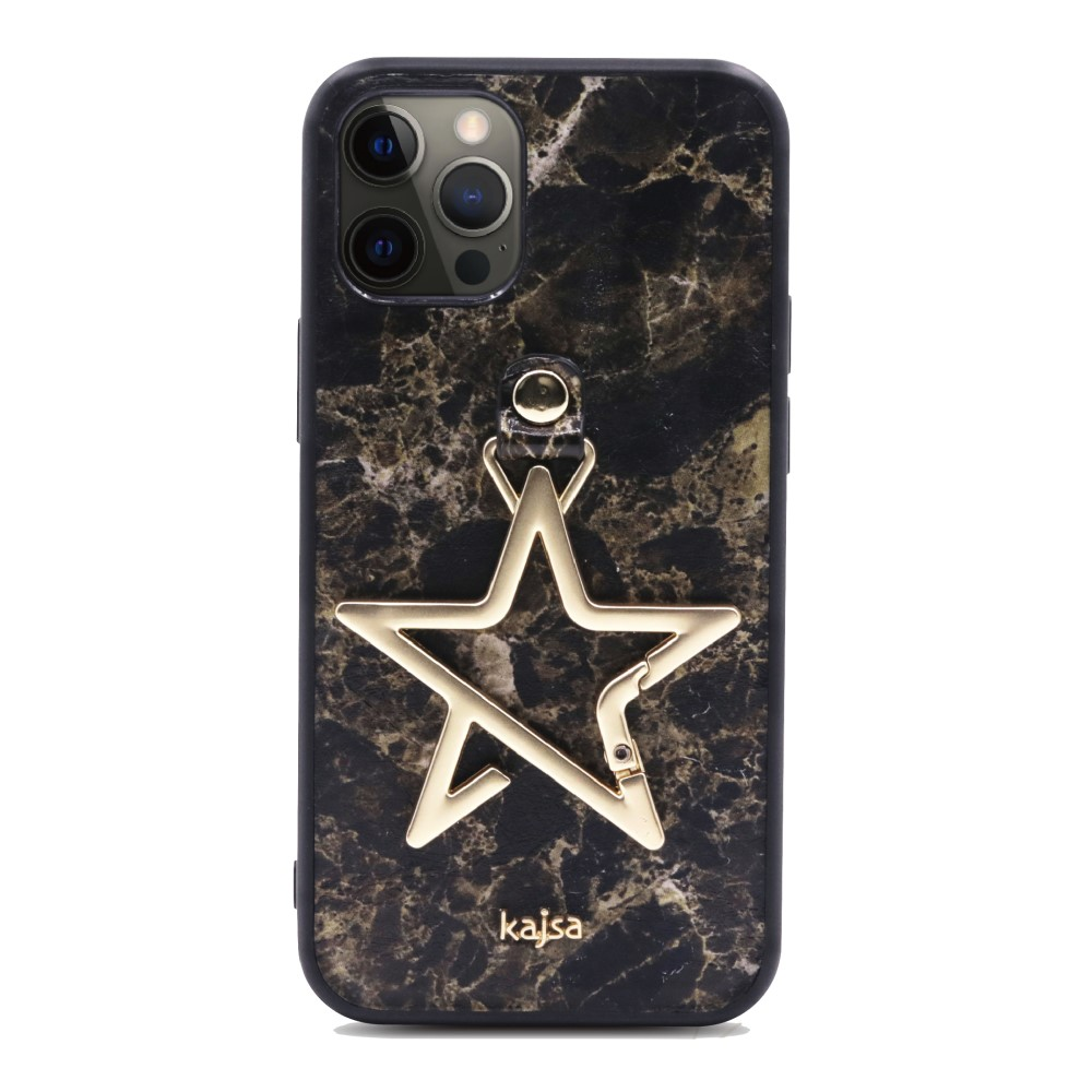 Kajsa Starry Collection - Marble Pattern Back Case for iPhone 12 Series 6
