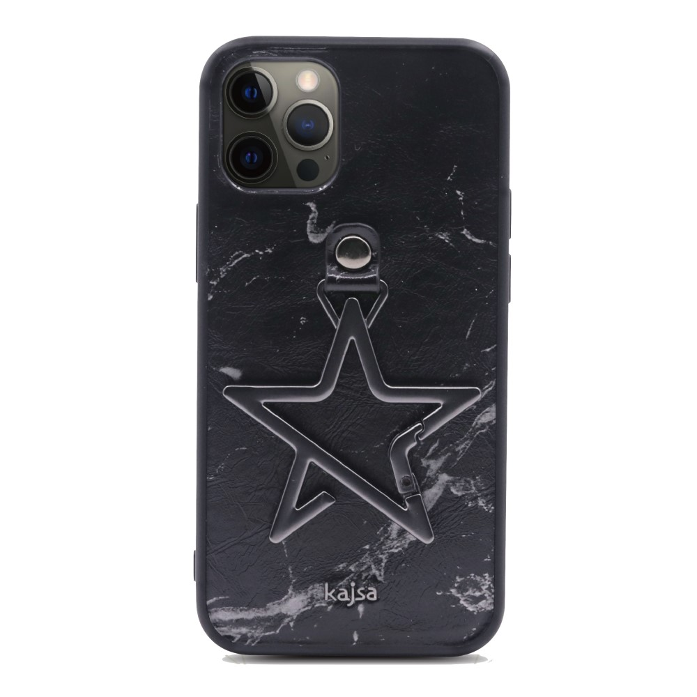 Kajsa Starry Collection - Marble Pattern Back Case for iPhone 12 Series 5