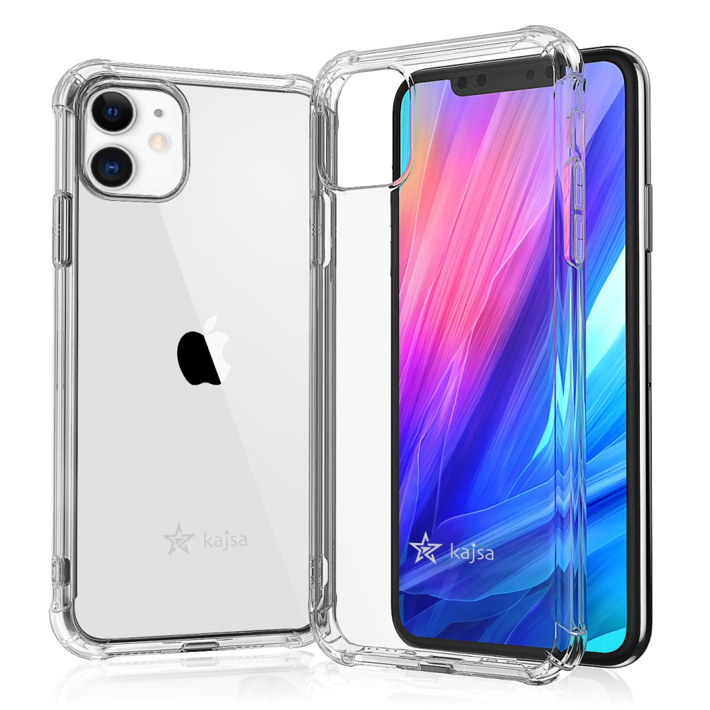 Kajsa Trans-Shield Collection (Plain Pattern) Back Cover for iPhone 11 Series 4