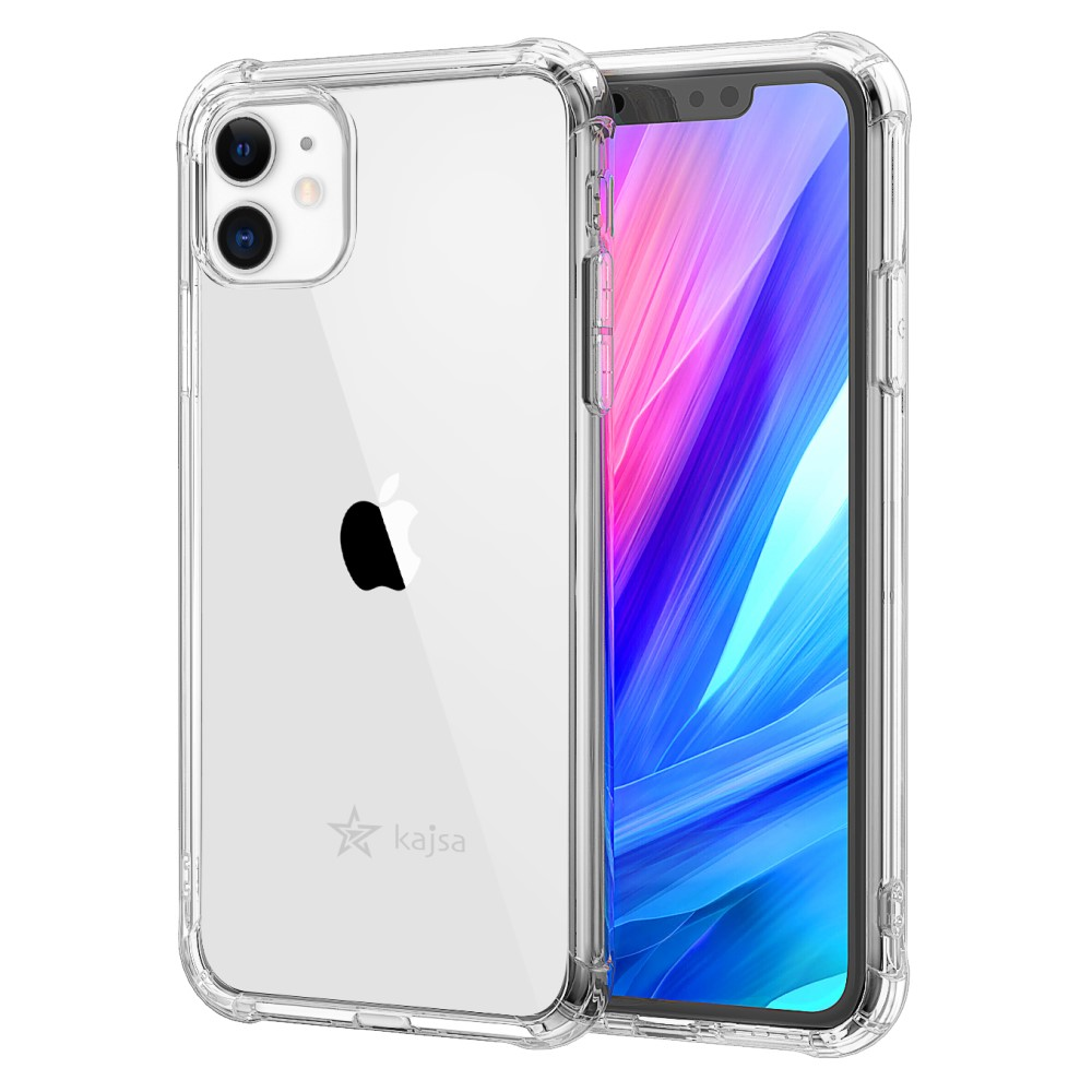 Kajsa Trans-Shield Collection (Plain Pattern) Back Cover for iPhone 11 Series 3