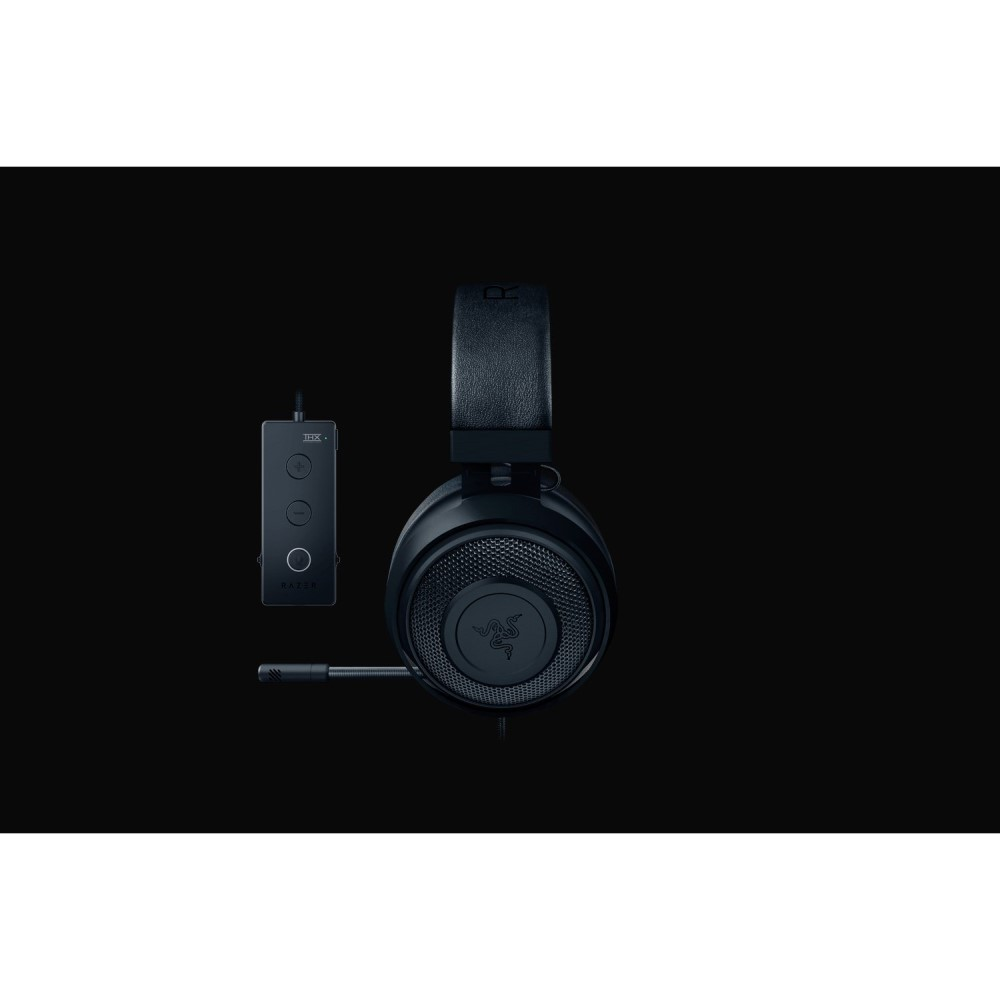 Razer Kraken Tournament Edition - Black Wired Gaming Headset with USB Audio Controller 6
