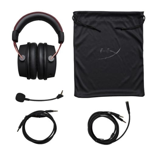 HyperX Cloud Alpha Pro Gaming Headset for PC, PS4 & Xbox One, Nintendo 3