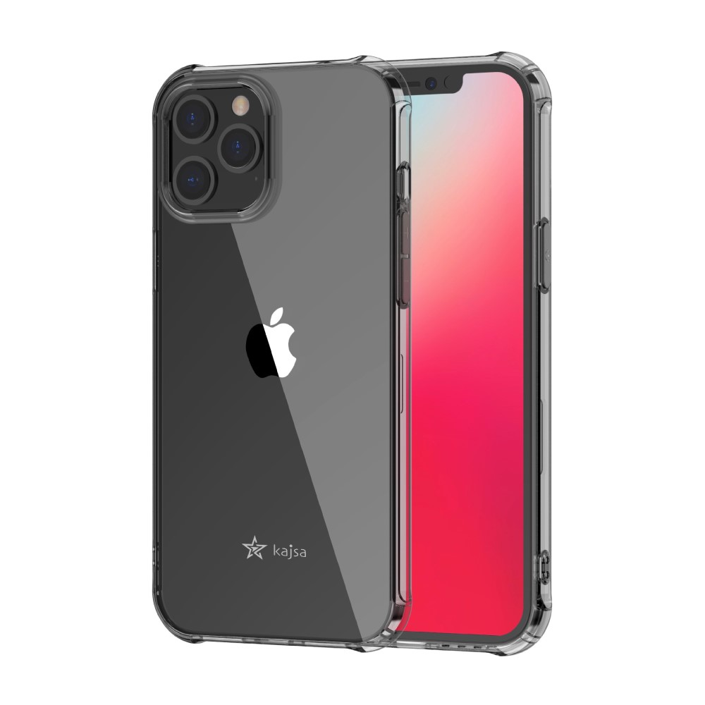 Kajsa Trans-Shield Collection (Plain) Back Cover for iPhone 12 Series 8