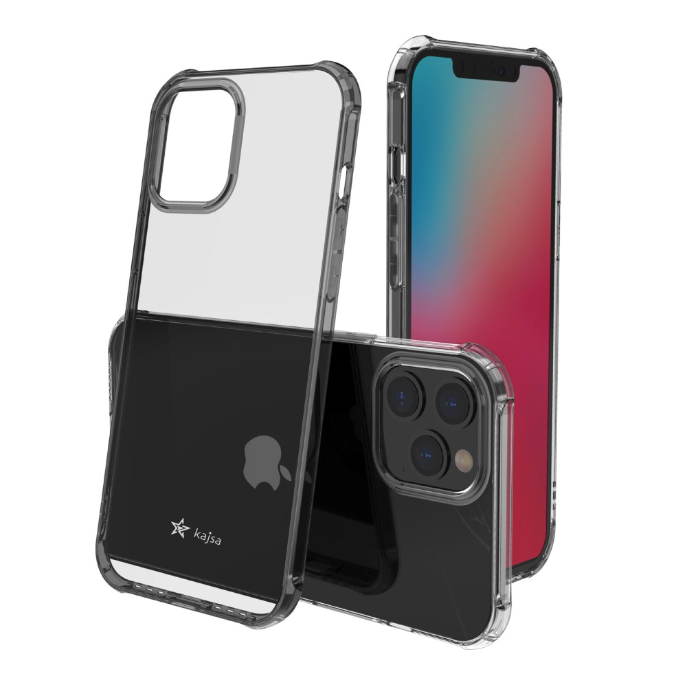 Kajsa Trans-Shield Collection (Plain) Back Cover for iPhone 12 Series 7