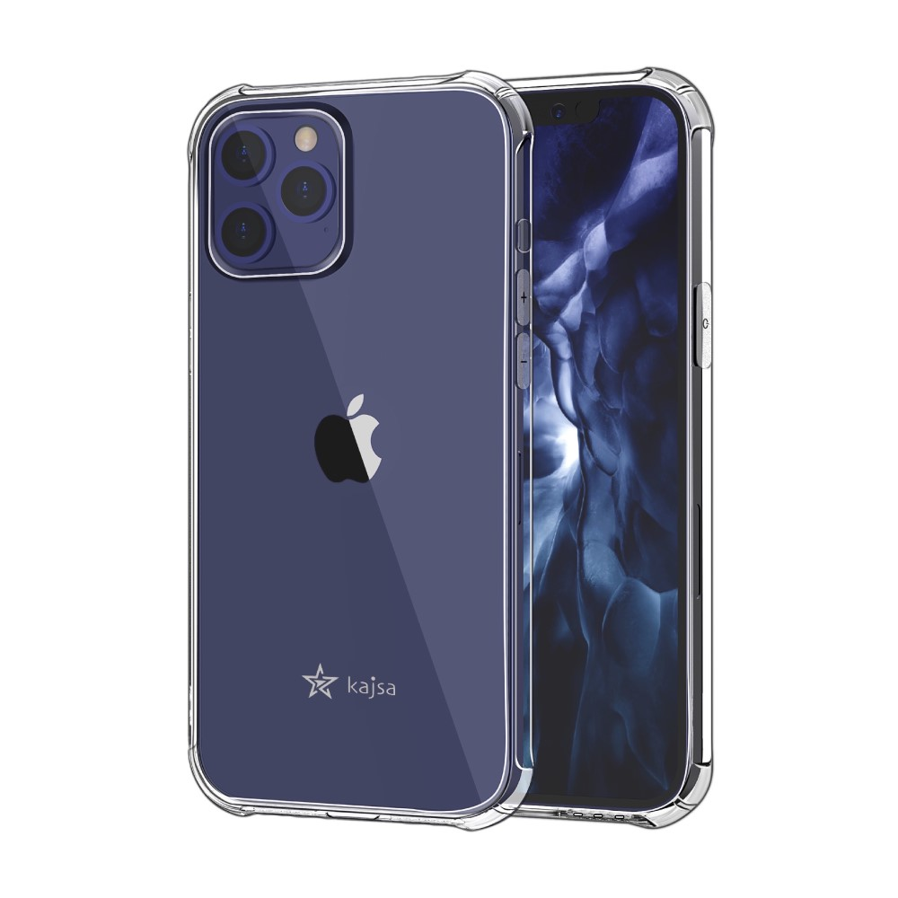 Kajsa Trans-Shield Collection (Plain) Back Cover for iPhone 12 Series 5