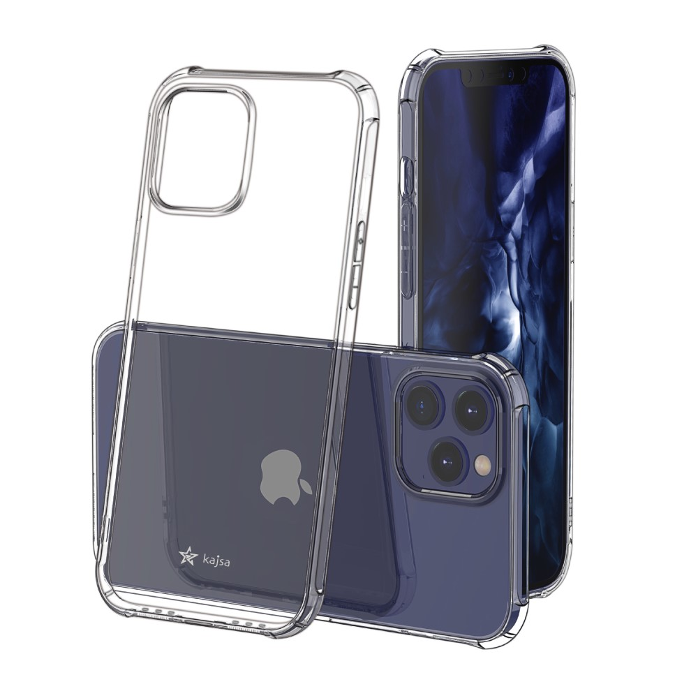 Kajsa Trans-Shield Collection (Plain) Back Cover for iPhone 12 Series 4