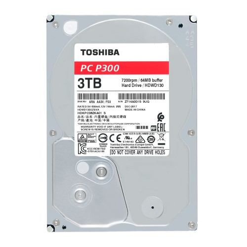 Toshiba P300 Desktop PC Hard Drive 3