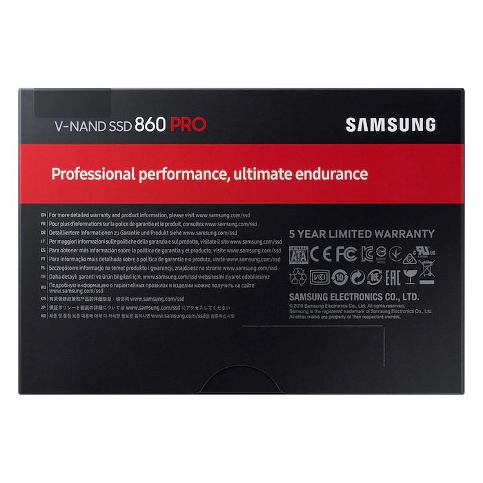 "Samsung 860 PRO SATA 2.5"" SSD 4"