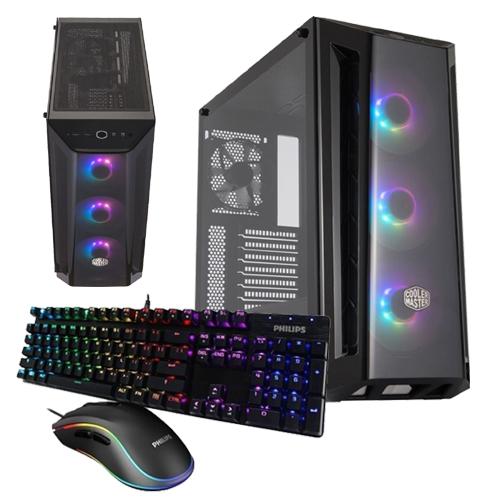 GeForce Gaming PC - X7, Intel Core i9 10850K, 32GB DDR4, 500GB M.2 SSD, 2TB HDD, No OS 1
