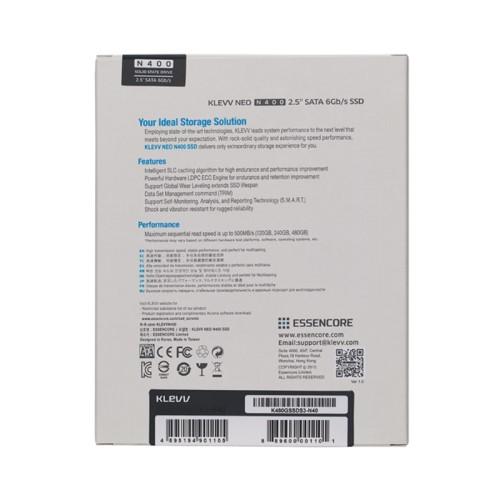 """Klevv Neo N400 2.5"""" SATA Revision 3.2 (SATA 6Gb/s) SSD 5"""