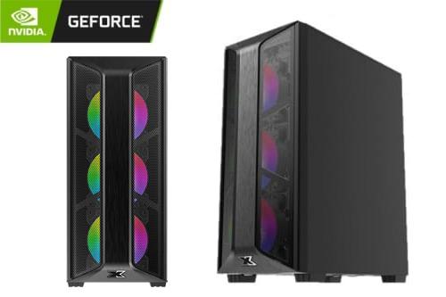 GeForce Gaming PC - Trio Case, Intel Core i5-10400F, 16GB DDR4, GeForce GTX 1660 Ti, 256GB SSD, 1TB HDD -Non activated windows 1