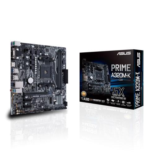 Asus PRIME A320M-K AMD AM4 uATX motherboard 1