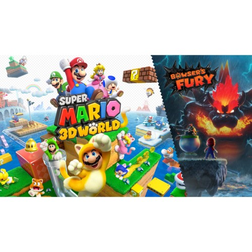 Super Mario 3D World + Bowser's Fury - For Nintendo Switch - SW4022 1
