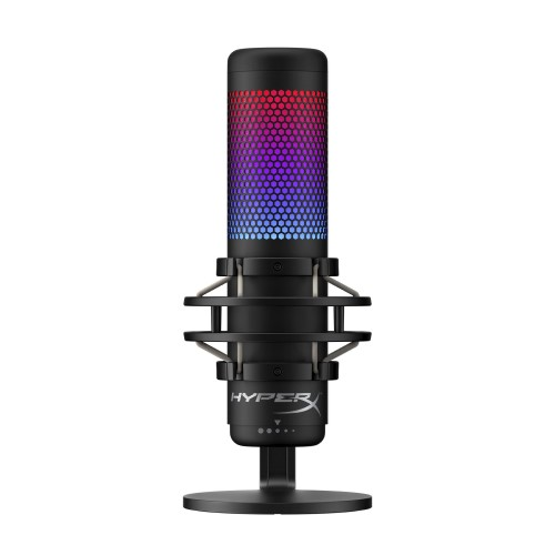 HyperX QuadCast Full-featured Standalone Mic For Streamers, Content Creators, and Gamers. 1
