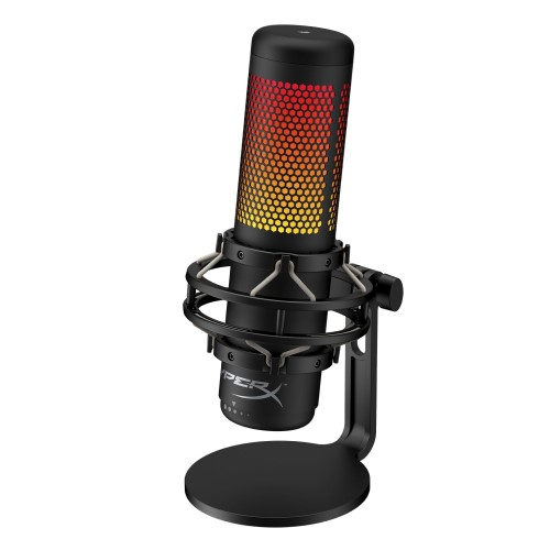 HyperX QuadCast Full-featured Standalone Mic For Streamers, Content Creators, and Gamers. 2