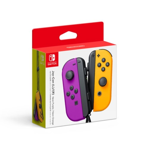 Nintendo Joy-Con (L)/(R) - Neon Purple/Neon Orange 1