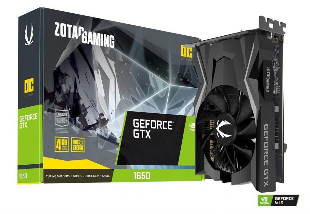 ZOTAC GAMING GeForce GTX 1650 OC GDDR6 1